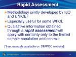 rapid assessment