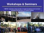 workshops seminars