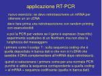 applicazione rt pcr