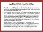 autonomia e aliena o1
