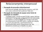 relacionamento interpessoal1
