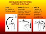 manejo de extintores cartucho de gas1