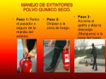 manejo de extintores polvo quimico seco1