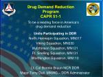 drug demand reduction program capr 51 1