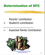 determination of efc