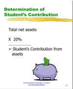 determination of student s contribution1