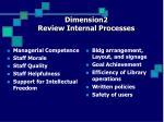 dimension2 review internal processes