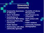 dimension3 community
