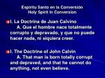 esp ritu santo en la conversi n holy spirit in conversion