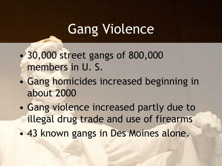 gang violence introduction