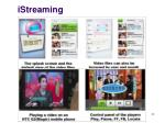 istreaming