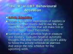 the b in cbt behavioural activation1