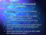 the b in cbt behavioural activation5