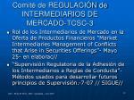 comit de regulaci n de intermediarios de mercado tcsc 3