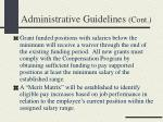 administrative guidelines cont1