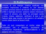 il politrauma