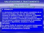 valutazione e trattamento del bambino politraumatizzato11