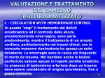 valutazione e trattamento del bambino politraumatizzato8