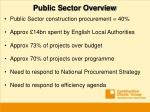 public sector overview