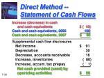 direct method statement of cash flows3
