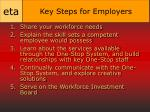 key steps for employers