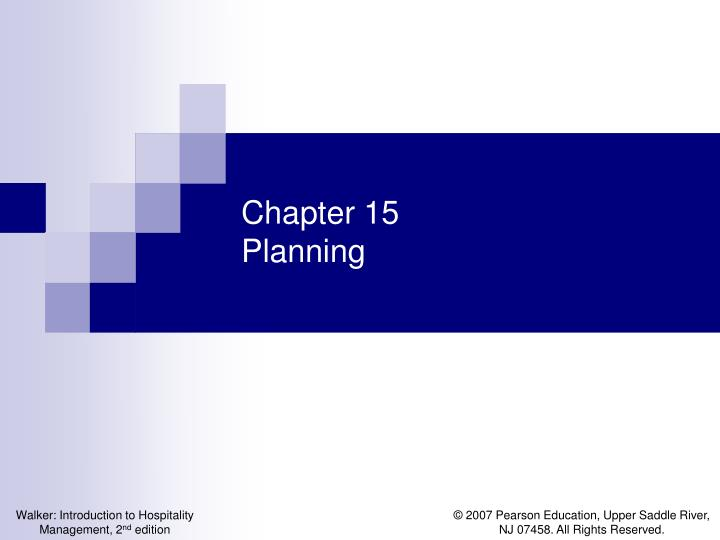 chapter 15 planning n.