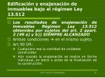edificaci n y enajenaci n de inmuebles bajo el r gimen ley 13 512