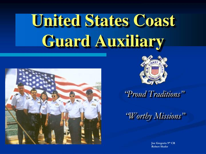 united states coast guard auxiliary n.