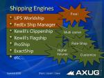 shipping engines