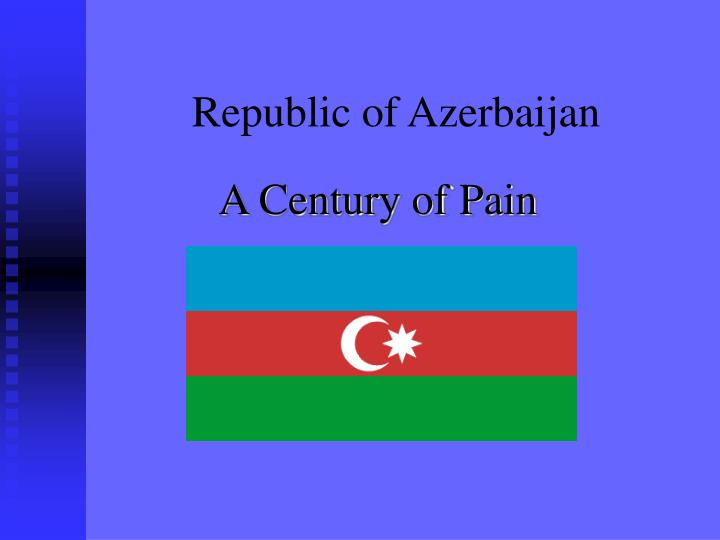 republic of azerbaijan n.