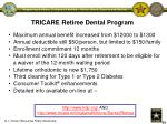 tricare retiree dental program