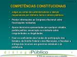 compet ncias constitucionais1