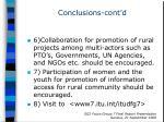 conclusions cont d2