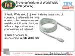 breve definizione di world wide web www