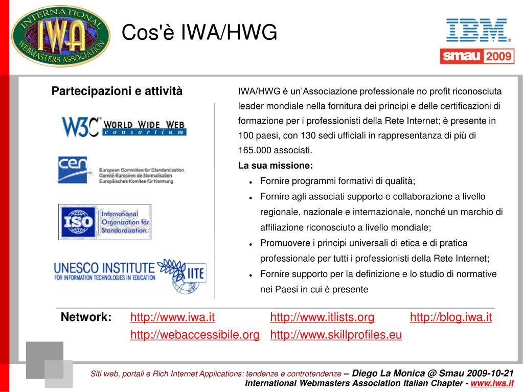 Cos'è IWA/HWG