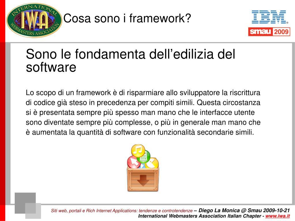 Cosa sono i framework?