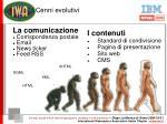 i contenuti standard di condivisione pagina di presentazione sito web cms