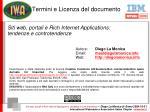 termini e licenza del documento