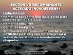 factor vii recombinante activado novoseven1