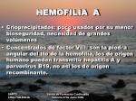 hemofilia a5