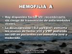 hemofilia a6