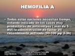 hemofilia a8