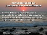 trastornos de la coagulacion hereditarios1