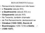 renascimento italiano1
