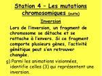 station 4 les mutations chromosomiques suite1