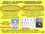 station 4 les mutations chromosomiques suite3