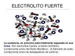 electrolito fuerte