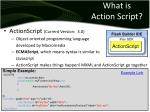what is action script