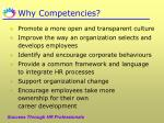 why competencies