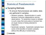 statistical fundamentals6